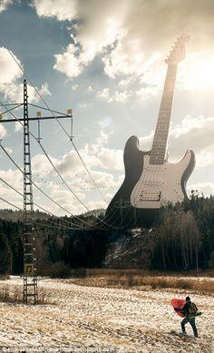'Electric Guitar', by Erik Johansson