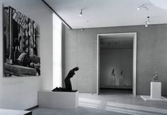 Brancusi at Art Institute of Chicago 1970