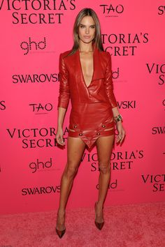 Alessandra Ambrosio at 2013 Victoria's Secret fashion show after party