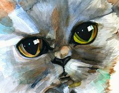 "Check out new work on my @Behance portfolio: ""Watercolour Cat"" http://be.net/gallery/34410215/Watercolour-Cat"