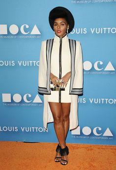 Fashioned by Janelle Monae White Fashion, Girl Fashion, Fashion Outfits, Fashion Design, African Women, African Fashion, Suits For Women, Clothes For Women, Nice Clothes