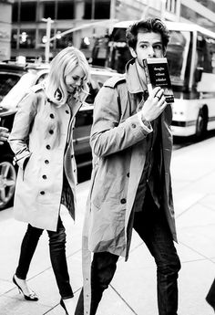 One of my favourite couples... Andrew Garfield and Emma Stone
