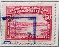 Personajes y motivos colombianos 1917 CARTAGENA