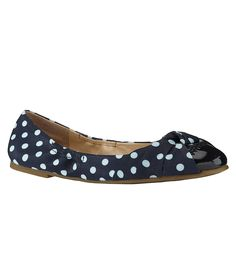 I have these! Love them too. Gianni Bini Navy with White Polka-Dot flats.