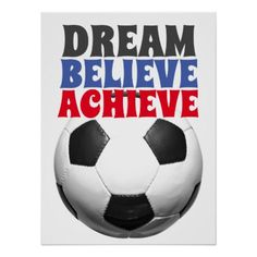Shop Retro Style Vintage Soccer Football Motivational Poster created by made_in_atlantis. Soccer Pro, Messi Soccer, Soccer Tips, Kids Soccer, Soccer Shirts, Soccer Cleats, Inspirational Football Quotes, Soccer Quotes, Motivational Posters