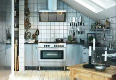 Cucina Ikea acciaio inox