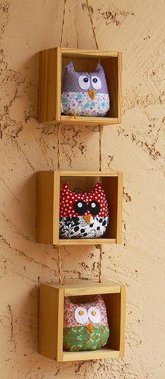 Casa de los Little Owls by olilo-designs, via Flickr