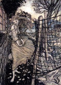 Arthur Rackham - illustration for Undine, 1909 (12 of 25)