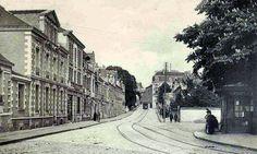 Nantes Place Canclaux et la rue de Gigant