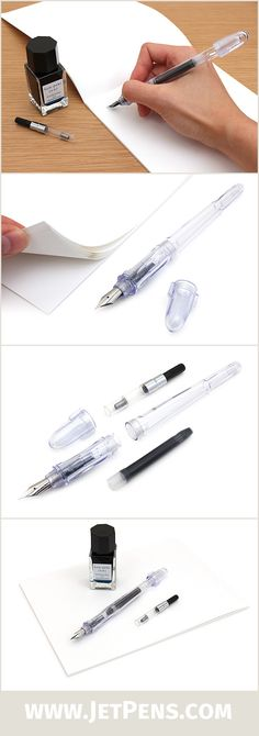 The JetPens Fountain Pen Starter Kit 2 is perfect for anyone who enjoys crisp, fine lines and bright, vivid ink!