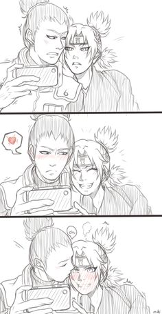 Behind the scene [2] After shikamaru take the photo of sand sibling [x]