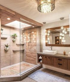 25 sophisticated bathroom decorating ideas that beautify your - 25 demanding . - 25 sophisticated bathroom decorating ideas that beautify yours – 25 sophisticated bathroom decora - Bad Inspiration, Bathroom Inspiration, Bathroom Goals, Small Bathroom, Bathroom Plants, Bathroom Spa, Beige Bathroom, Glass Bathroom, Bathroom Lighting