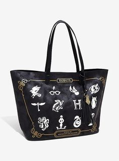 Harry Potter Icons Tote, Harry Potter Icons, Harry Potter Bag, Harry Potter  Goblet d375e94181