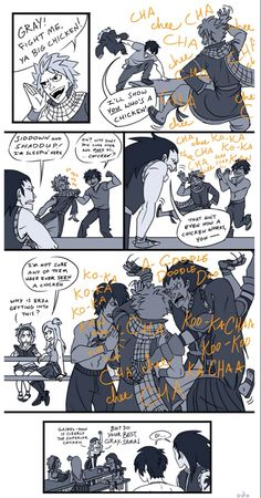 I just noticed that Gray loses an article of clothing in each panel: jacket, shirt, belt...I'm dying...