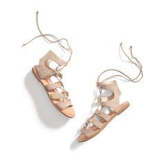 Stitch Fix New Arrivals: Lace-Up Sandals