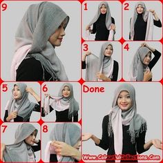 My hijab tutorial. You never know when this could be very useful