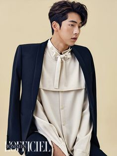 Nam Joo Hyuk for L'Officiel Hommes Korea, November 2016 Asian Actors, Korean Actors, Korean Haircut Men, Korean Men Hairstyle, Korean Hairstyles, Joon Hyung, Park Hae Jin, Nam Joohyuk, Park Bo Gum