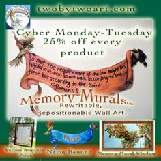 """Two By Two Art Cyber Monday -Tuesday Deal!! 25% off entire store. Remember, each product comes with a video/paper drawing lesson, bible lesson, and coloring page.  Also, check out my art Supply Picks list. Please """"share"""". www.twobytwoart.com"""