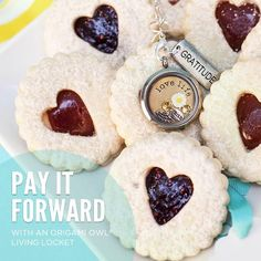 Something sweet for your sweet. Pay it forward. #origamiowl #fashion #gift www.dollinevance.origamiowl.com
