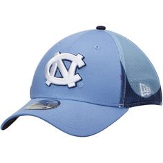 North Carolina Tar Heels New Era NCAA Logo Wrapped 39THIRTY Flex Hat - Carolina Blue