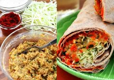 SPICY LENTIL WRAPS