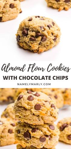 These Almond Flour Cookies are easy and amazing! They're low-carb, LIGHTLY SWEETENED, and delicious. #almondflourcookiesrecipe #almondflourcookies #almondflourrecipe #vegancookies #lowcarbcookies #vegan #namelymarly Vegan Sandwich Recipes, Best Vegan Recipes, Vegan Blogs, Vegan Dessert Recipes, Vegan Breakfast Recipes, Cookie Recipes, Favorite Recipes, Almond Flour Cookies, Baking With Almond Flour