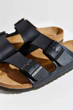 Matte Black Birkenstocks. Need a pair of these in my life