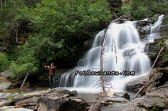 Playing Chinese Flute at Base of Bijoux Falls during Canada Day Long Weekend in Pine Pass - Bijoux Falls Provincial Park - MacKenzie, BC, Ca. Dawson Creek Bc, Roadside Attractions, Canada Day, Long Weekend, Hiking Trails, Waterfalls, Flute, Pine, Places To Visit