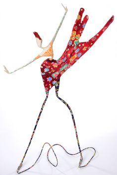 Laure Freyermuth - Sculpture en papier mâché Wow