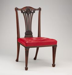 Side chair from a set of fourteen, Thomas Chippendale (1718-1779).