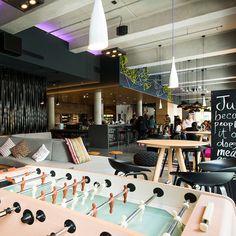 MOXY HOTEL ESCHBORN FRANKFURT design by APTO Architects #hospitality #interior #design