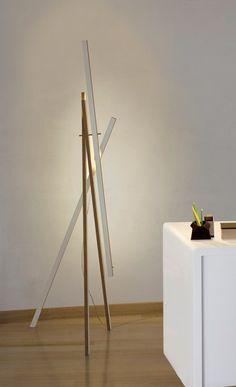 Adjustable plywood floor lamp LE   Floor lamp - arturo alvarez