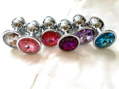 Princess Plugs 18 Only Stainless Steel BDSM DDLG by KittensCovet