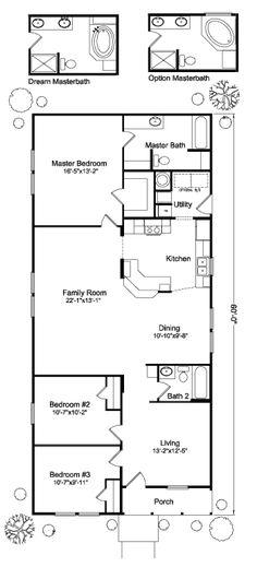 The Klamath IV N4P60S09 or 4G28603B Floor Plan | Manufactured and/or Modular Floor Plans available Idaho, Montana, Northern California, Oregon and Washington floor plan
