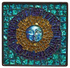 'Eclipse Rising'  Artist: Carrie A. Bracker by Lin Schorr    #mosaic #mosaicart #mosaicdesigns