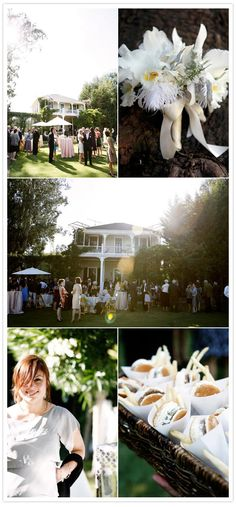 a 1920's themed wedding, I especially love the house the party is in front of