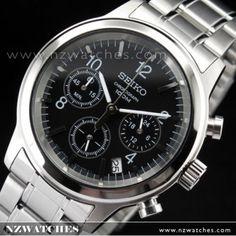 Seiko Men's Chronograph 100M Sports Watch SSB007P1 SSB007