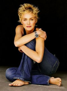 This cut works for u too. Wispy around the face, shorter in interior. Sharon Stone