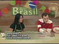 ARTE BRASIL - THAIS KATO - DOBRADURA EM TECIDO (14/06/2011 - Parte 2 de 2) - YouTube