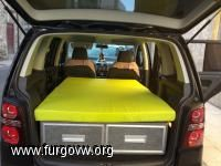 Box to convert your touran into a camper
