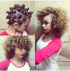 Bantu knot...cant wait for my hair to grow back out!!