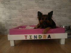 New homemade bed for my lovely dog ♥