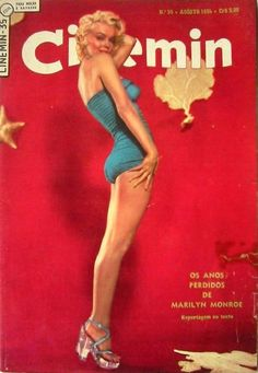 Cinemin - August 1954, magazine from Argentina. Front cover photo of Nick de Morgoli, 1954.