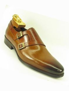 SKU Mens Slip On Fashionable Side Double Buckle Style Cognac Loafer Dress Loafers, Dress Shoes, Loafers Online, Stylish Dresses, Cognac, Oxford Shoes, Slip On, Style Inspiration, Christmas Sale