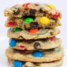 BEST M&M Cookies Recipe (+ Video) - I Heart Naptime