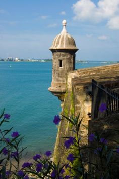 San Juan, Puerto Rico | Make the voyage to San Juan's historic Castillo San Felipe del Morro, a 16th century citadel known as one of the most incredible architectural creations in this Puerto Rican city.