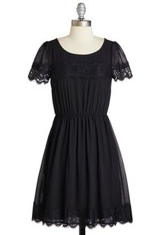 One of a Kindhearted Dress in Black