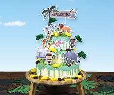 Stoere taart die je zelf versierd met de jarige ranger! Jaba, Ranger, Birthday Cake, Desserts, Food, Bavarian Cream, Seeds, Tailgate Desserts, Deserts