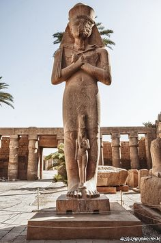 Luxor, Ancient Egyptian Sculpture by Wesley Brown
