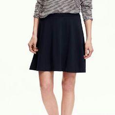 Old Navy Ponte Knit Circle Skirt Dark blue circle skirt. NWT. Old Navy Skirts Circle & Skater
